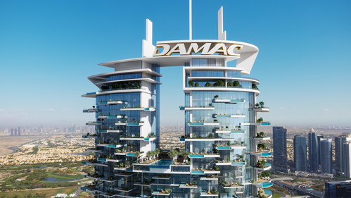 Every unit in the super-luxury category will have either a private pool or a Jacuzzi. (PRNewsfoto/DAMAC Properties)