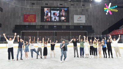 CGTN: 24& aspirantes a la campaña CGTN Media Challengers enfrentan la competencia final (PRNewsfoto/CGTN)
