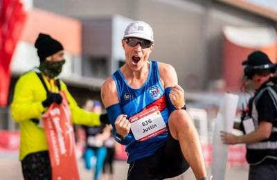 Calgary Marathon Male Winner 2021 (CNW Group/Scotiabank)