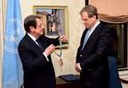 Cyprus Honors American Jewish Committee CEO David Harris...