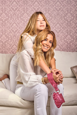 The dynamic Latina mom and daughter duo, creators of Beamina's Bombón Fearless, an iconic leather pouch, unveils Zer: Alas de Angel (Angel Wings), the new empowerment accessory. The bag serves as a symbol of protection and pure love for yourself and others.