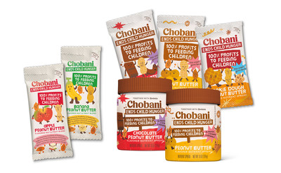 Chobani Ends Child Hunger Product Family