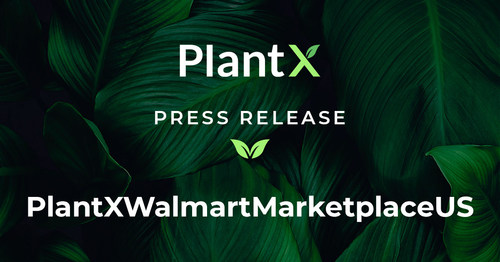 PlantX Announces the Launch of Its First Products on Walmart Marketplace in the United States (CNW Group/PlantX Life Inc.)