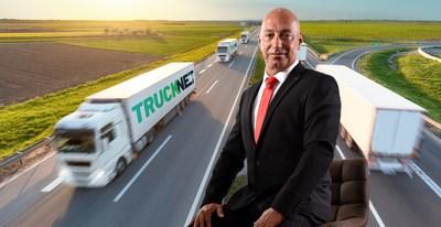 Hanan Fridman, Trucknet Enterprise CEO, chosen as innovative leader in the field of sustainability within the logistics industry (PRNewsfoto/Trucknet Enterprise)