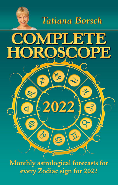 Complete Horoscope 2022 gives readers insights into what lies ahead in the upcoming year. Since 1992, Tatiana Borsch has been writing the annual Complete Horoscope book series in Russian. Complete Horoscope 2022 is her fourth English edition.