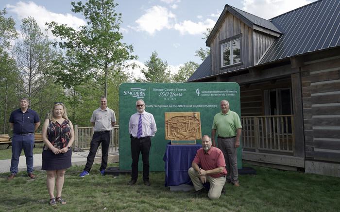 西姆科县被命名为2022年加拿大森林之都