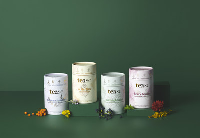 We create convenient, solution-focused blends + accessories that complement each other and your goals without compromising quality, sustainability, or impact. (CNW Group/Tease Tea)