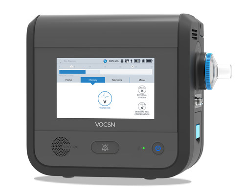 Ventec Life Systems V+Pro Ventilator: An 18 lb. critical care portable ventilator that provides invasive, noninvasive, and mouthpiece ventilation and is approved for use in hospitals, care institutions, for transport, and home environments.