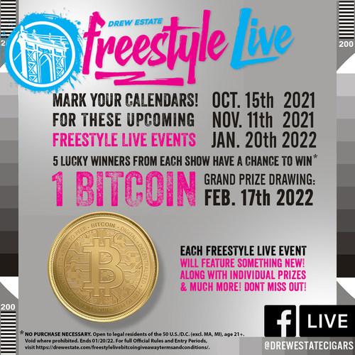 Drew Estate Announces Bitcoin Sweepstakes