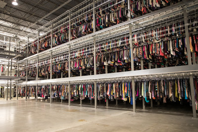 thredUP's first four-level facility is expected to expand item capacity by 150% across its distribution center network to 16.5 million items and bring 2,000 jobs to Dallas-Fort Worth.