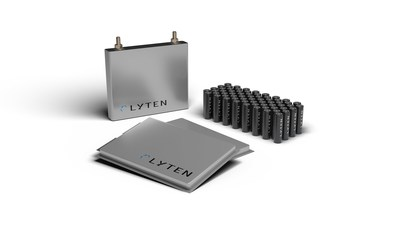 The LytCell EVtm lithium-sulfur (Li-S) battery platform is designed to deliver three times (3X) the gravimetric energy density of conventional lithium-ion (Li-ion) batteries and can be produced in cylindrical, pouch, and prismatic formats.