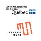 L'Office des personnes handicapées du Québec et Espace MUNI signent une entente de partenariat