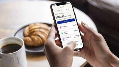 New PayPal App - PayPal Savings, provided by Synchrony Bank