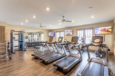 The community features 228 one- and two-bedroom pet friendly apartment homes, along with shared community amenities such as a 24/7 fitness center and a radiant saltwater pool.