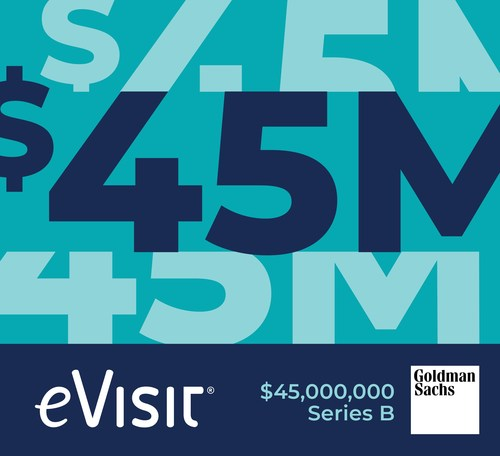 eVisit Closes $45M Series B Funding Round Led by Goldman Sachs Asset Management