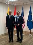 Lithuania Honors American Jewish Committee CEO David Harris...