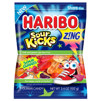 HARIBO Continues to Excite Fans with New Flavors and Shapes