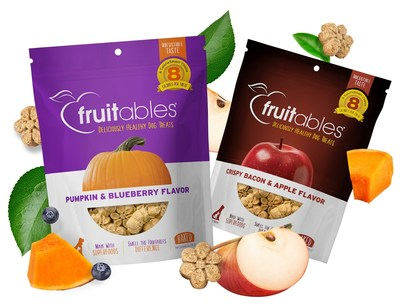 Whether you're recognizing National Dog Week, kicking off pumpkin season or just want to give your dog a treat for helping you through a tough year, Fruitables® has flavorful combinations that celebrate the fun side of healthy.