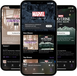 The new Marvel channel from SiriusXM on Apple Podcasts.