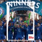 Topps étend son partenariat avec les plus grandes compétitions de football européennes en tant que partenaire des collections des compétitions des clubs de l'UEFA