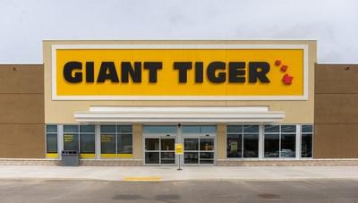 Giant Tiger Stores Limited a annoncé aujourd'hui que son nouveau magasin ouvrira officiellement ses portes le samedi 25 septembre à Niagara Falls, en Ontario. (Groupe CNW/Giant Tiger Stores Limited)