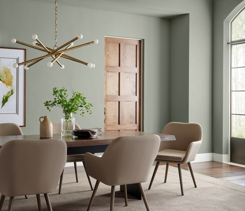 Evergreen Fog SW 9130, Sherwin-Williams 2022 Color of the Year