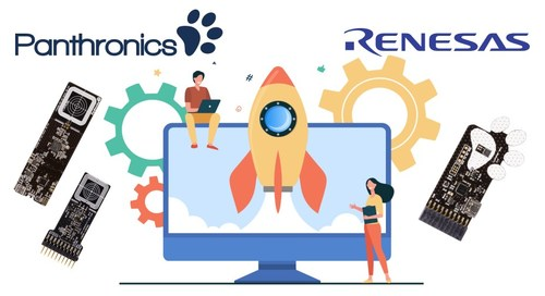 Panthronics builds in support for Renesas Synergy MCU platform to new NFC wireless charging reference design to speed up system prototyping (PRNewsfoto/Panthronics AG)