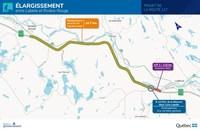 Élargissement de la route 117 entre Labelle et Rivière-Rouge - Début des travaux en 2022