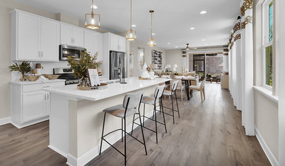The Beech plan is one of six Richmond American floor plans available at Forest Crest in Jacksonville, Florida.