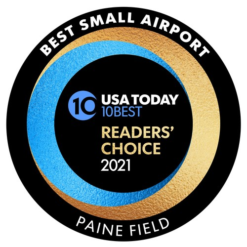 USA Today Best Small Airport Award 2021