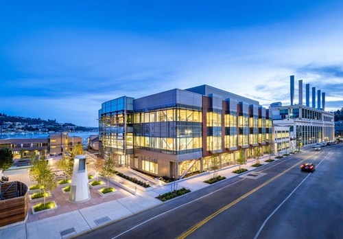1165 Eastlake Avenue East, Lake Union, Seattle. Courtesy of Alexandria Real Estate Equities, Inc.