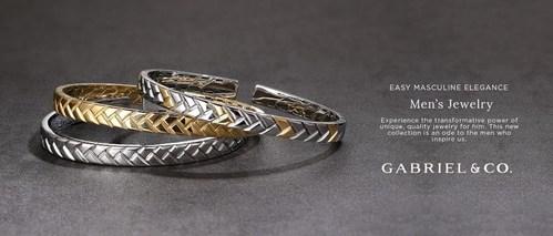 Easy Masculine Elegance: Gabriel & Co. Launches Men's Fine Jewelry