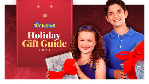 The Toy Insider's 16th annual Holiday Gift Guide features more than 300 toys from 136 different manufacturers. The hottest and most coveted items for 2021 are broken out into three lists: the Hot 20, STEM 10, and 12 Under $20.