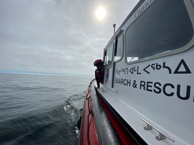 La station d'embarcations de sauvetage côtier de la Garde côtière canadienne à Rankin Inlet, au Nunavut, a terminé sa quatrième saison de services de recherche et de sauvetage maritimes le mardi 7 septembre 2021. (Groupe CNW/Garde côtière canadienne)