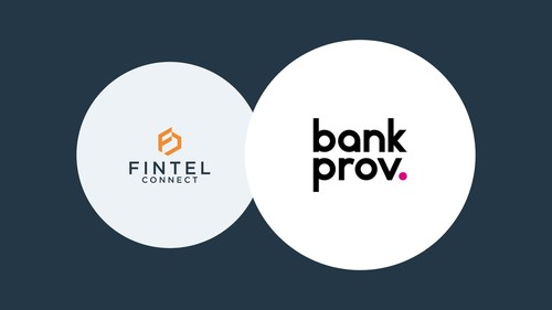 Innovative digital commercial bank, BankProv, partners with industry-leading performance marketing technology provider, Fintel Connect, to power its affiliate and influencer marketing program (CNW Group/Fintel Connect)