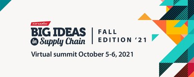 Big Ideas in Supply Chain Oct 5-6, 2021 (CNW Group/Kinaxis Inc.)