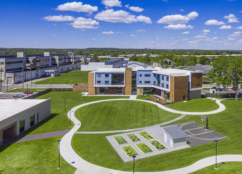 OneFifteen campus in Dayton, Ohio. Courtesy of Alexandria Real Estate Equities, Inc.