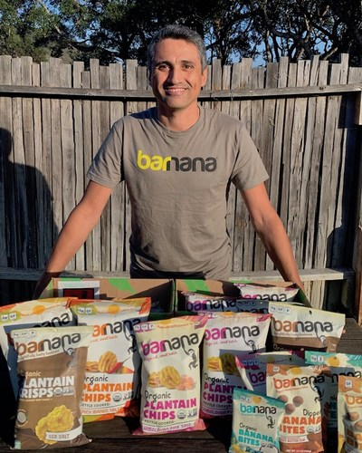 Caue Suplicy, native Brazilian and founder of Barnana Snacks, has led the business to become the #1 brand of organic plantain snacks in the U.S. by upcycling organic bananas and plantains, produced by indigenous farmers in Latin America, and turning them into a growing array of delicious sweet and salty snacks.