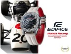 """Casio to Release EDIFICE Collaboration Model with Honda Racing, Featuring """"Championship White"""""""