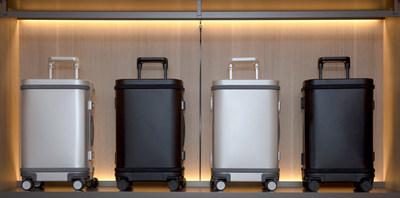 Samsara's Smart Aluminum Carry-On featured in three consecutive stories by top-tier press (PRNewsfoto/Samsara Luggage Inc)