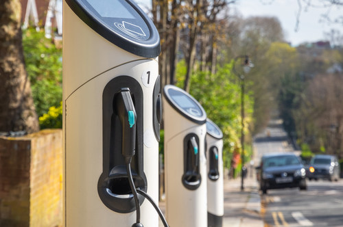 EV Chargers in Cities