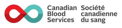 Canadian Blood Services Logo (CNW Group/Roche Diagnostics Canada)