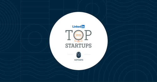 Samsara Ranked on LinkedIn's 2021 Top Startups List in the U.S.