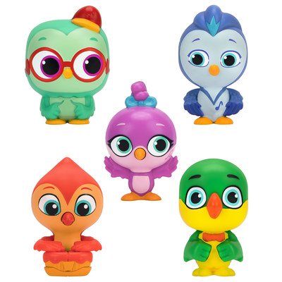 The Do, Re & Mi multipack features five 3-inch figures that your little ones can play with to recreate their favorite scenes at home. Collect all of the playful figures from the town of Beebopsburgh and watch the musical adventures with your favorite birdies by your side.