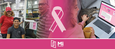 MI Foundation Donates to Breast Cancer Charities