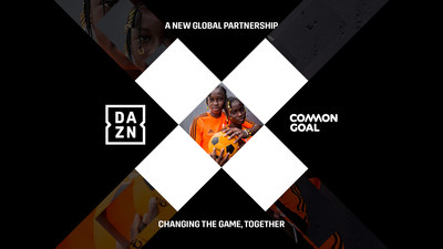 DAZN and Common Goal - uniting to change the game, together.