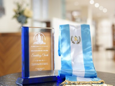 The Churches of Scientology of Los Angeles recognized for their contribution to the L.A. Guatemalan community.