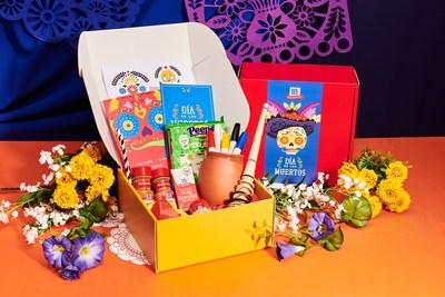 Contents of McCormick's Limited Edition Día de los Muertos Recipe Craft Kit