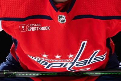 Caesars Sportsbook x Washington Capitals Jersey Preview