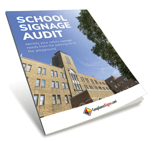 The free school signage audit guides educators through a complete facility audit.